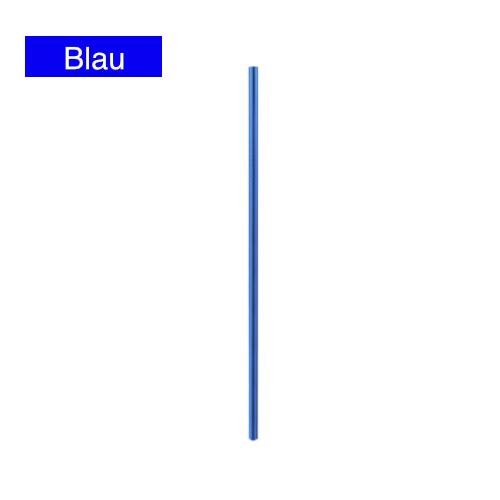 edelstahlstrohhalme blau edelstahl halm trinkhalm