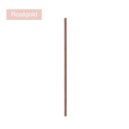 edelstahl strohhalm trinkhalm rosegold